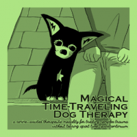 Magical Time-Traveling Dog Therapy